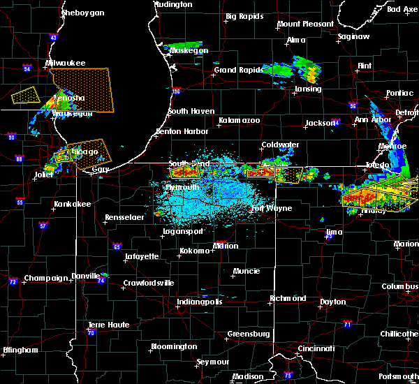 Radar Image for Severe Thunderstorms near Dunlap, IN at 6/1/2019 4:58 PM EDT