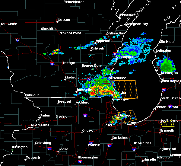 Radar Image for Severe Thunderstorms near Burlington, WI at 6/1/2019 4:03 PM CDT