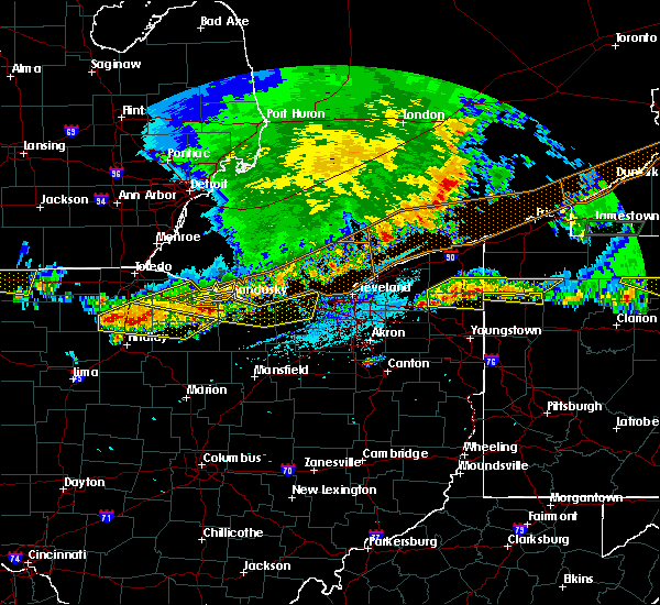 Radar Image for Severe Thunderstorms near Oberlin, OH at 6/1/2019 5:04 PM EDT
