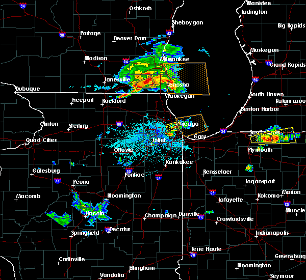 Radar Image for Severe Thunderstorms near Oak Park, IL at 6/1/2019 4:11 PM CDT