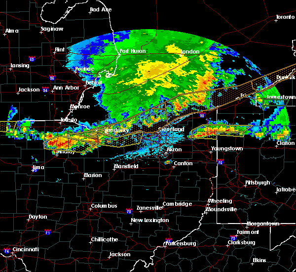Radar Image for Severe Thunderstorms near Custar, OH at 6/1/2019 5:14 PM EDT