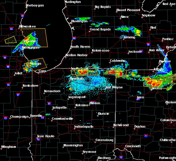 Radar Image for Severe Thunderstorms near West Unity, OH at 6/1/2019 5:16 PM EDT