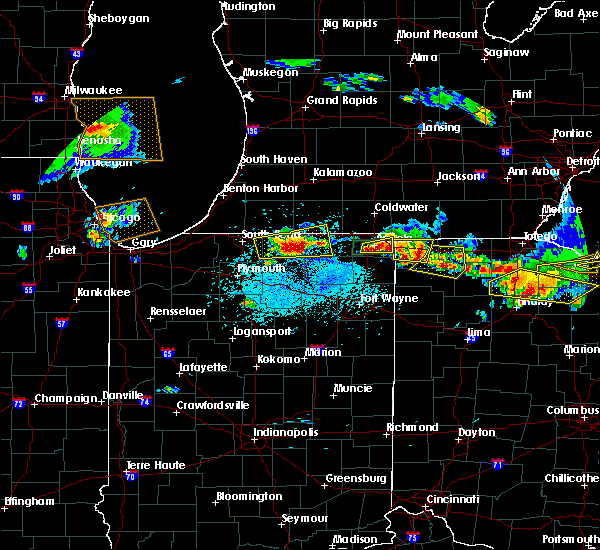 Radar Image for Severe Thunderstorms near Napoleon, OH at 6/1/2019 5:24 PM EDT