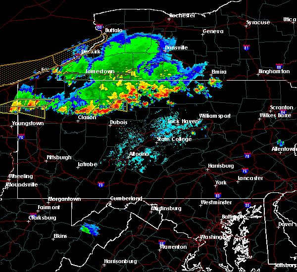 Radar Image for Severe Thunderstorms near Johnsonburg, PA at 6/1/2019 5:24 PM EDT