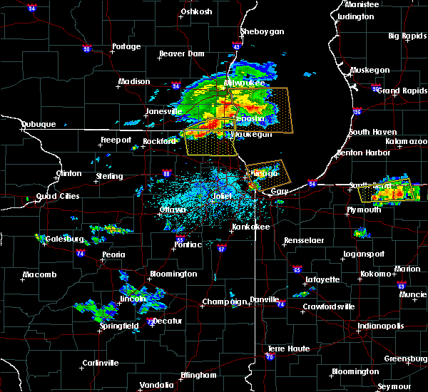 Radar Image for Severe Thunderstorms near Mundelein, IL at 6/1/2019 4:28 PM CDT