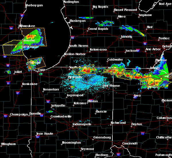 Radar Image for Severe Thunderstorms near Shipshewana, IN at 6/1/2019 5:31 PM EDT