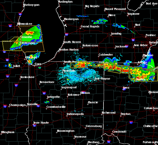 Radar Image for Severe Thunderstorms near Napoleon, OH at 6/1/2019 5:37 PM EDT