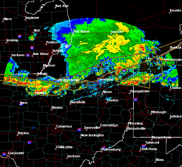Radar Image for Severe Thunderstorms near Custar, OH at 6/1/2019 5:37 PM EDT