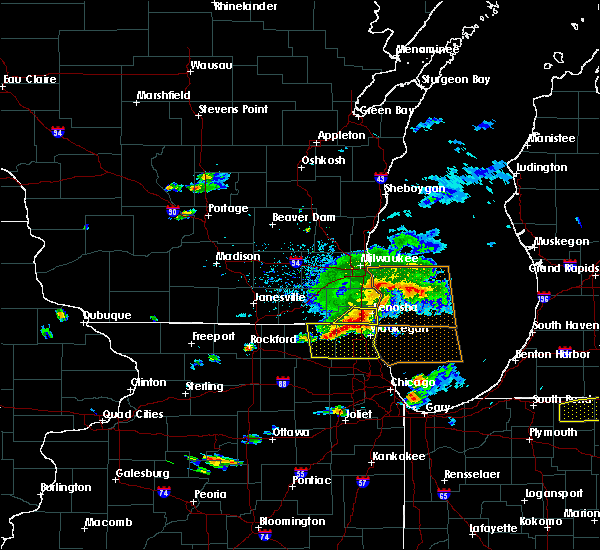 Radar Image for Severe Thunderstorms near Bristol, WI at 6/1/2019 4:38 PM CDT