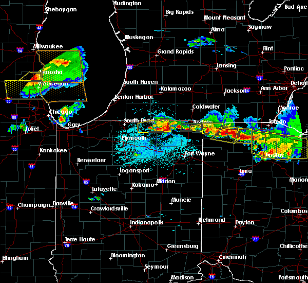 Radar Image for Severe Thunderstorms near Wolcottville, IN at 6/1/2019 5:42 PM EDT