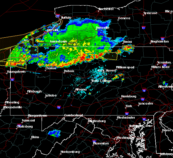 Radar Image for Severe Thunderstorms near Arnot, PA at 6/1/2019 5:42 PM EDT