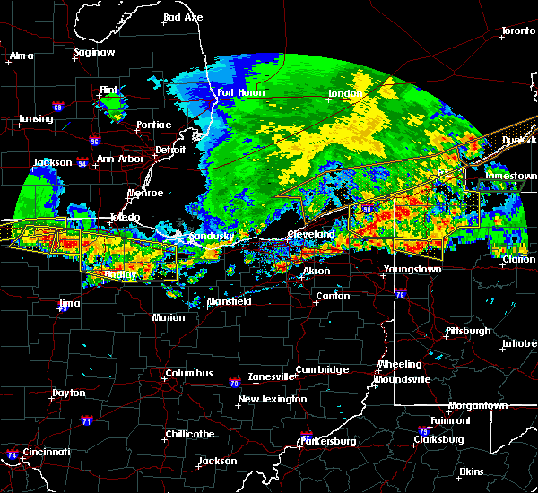 Radar Image for Severe Thunderstorms near Jefferson, OH at 6/1/2019 5:52 PM EDT