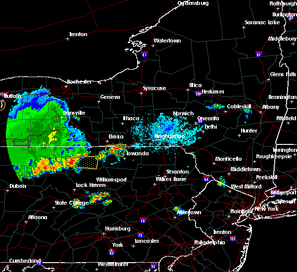 Radar Image for Severe Thunderstorms near Waverly, NY at 6/1/2019 5:52 PM EDT
