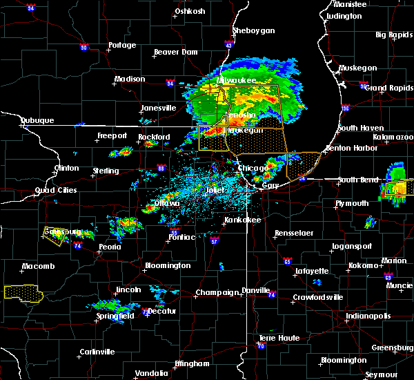 Radar Image for Severe Thunderstorms near Mundelein, IL at 6/1/2019 4:55 PM CDT