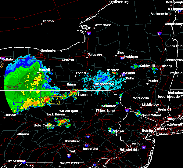 Radar Image for Severe Thunderstorms near Waverly, NY at 6/1/2019 6:04 PM EDT