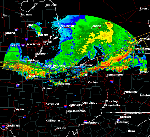 Radar Image for Severe Thunderstorms near Cortland, OH at 6/1/2019 6:04 PM EDT