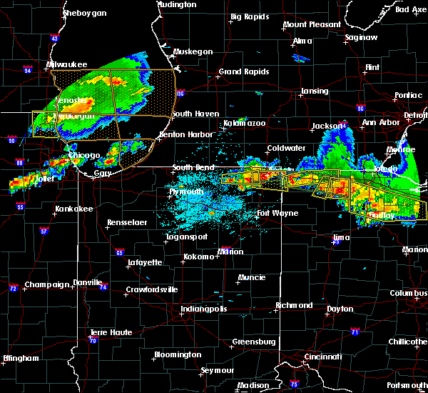 Radar Image for Severe Thunderstorms near Napoleon, OH at 6/1/2019 6:12 PM EDT