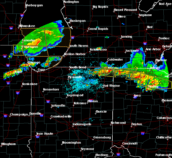 Radar Image for Severe Thunderstorms near Napoleon, OH at 6/1/2019 6:19 PM EDT