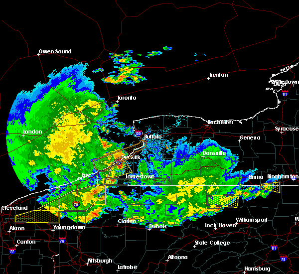 Radar Image for Severe Thunderstorms near Sinclairville, NY at 6/1/2019 6:20 PM EDT