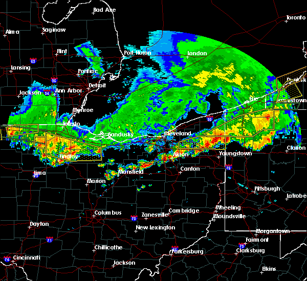 Radar Image for Severe Thunderstorms near New Riegel, OH at 6/1/2019 6:26 PM EDT