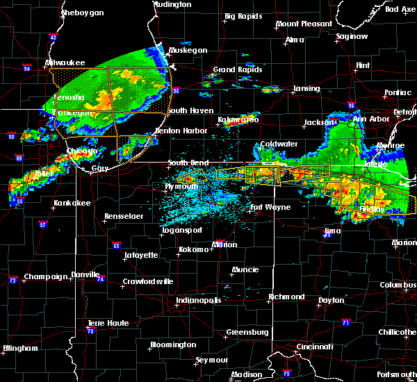Radar Image for Severe Thunderstorms near Stryker, OH at 6/1/2019 6:32 PM EDT