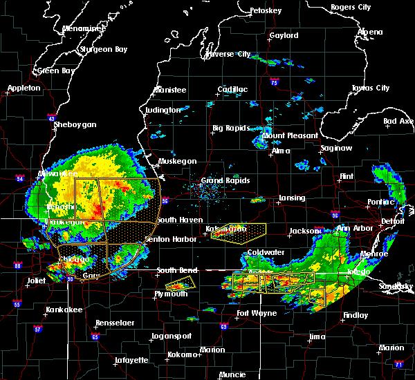 Radar Image for Severe Thunderstorms near Level Park-Oak Park, MI at 6/1/2019 6:34 PM EDT
