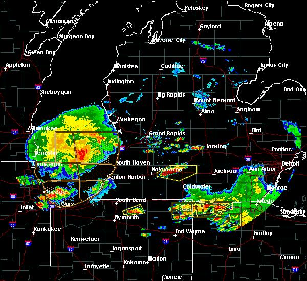 Radar Image for Severe Thunderstorms near Level Park-Oak Park, MI at 6/1/2019 6:44 PM EDT
