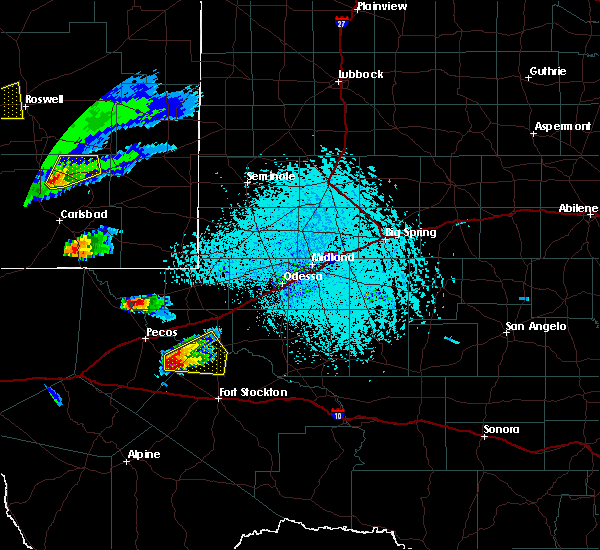 Radar Image for Severe Thunderstorms near Mentone, TX at 6/1/2019 5:50 PM CDT