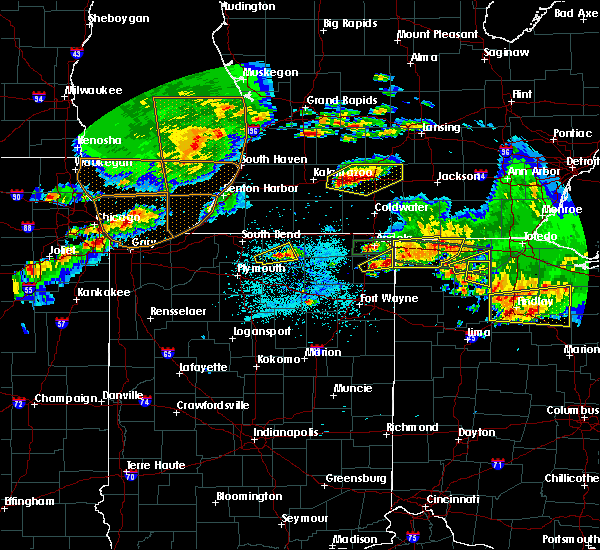 Radar Image for Severe Thunderstorms near Napoleon, OH at 6/1/2019 6:55 PM EDT