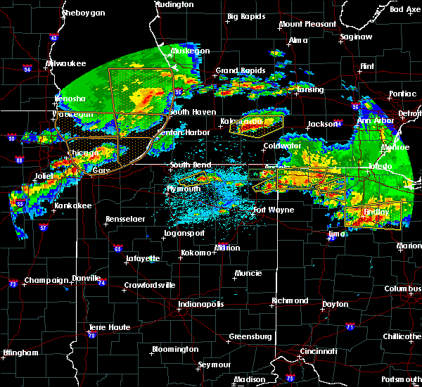 Radar Image for Severe Thunderstorms near Stryker, OH at 6/1/2019 6:58 PM EDT