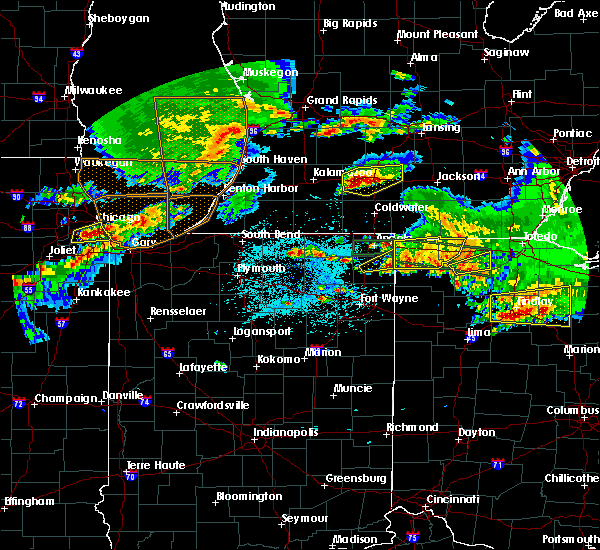 Radar Image for Severe Thunderstorms near Stryker, OH at 6/1/2019 7:07 PM EDT