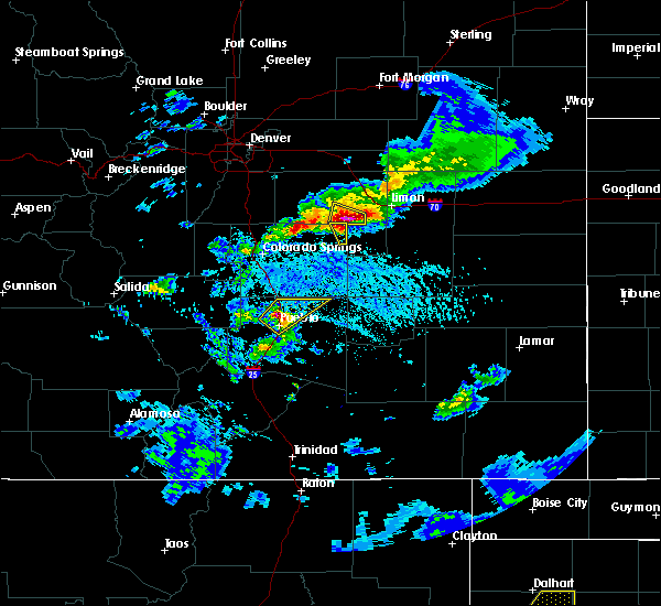 Radar Image for Severe Thunderstorms near Ramah, CO at 6/1/2019 5:12 PM MDT
