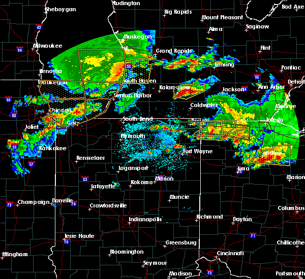 Radar Image for Severe Thunderstorms near Ney, OH at 6/1/2019 7:17 PM EDT