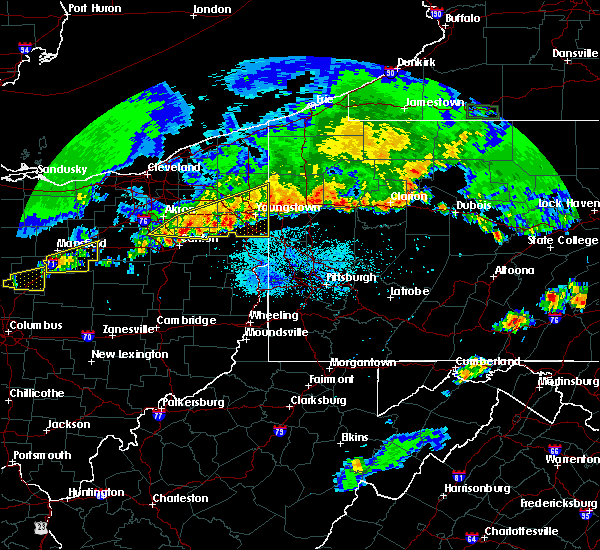 Radar Image for Severe Thunderstorms near Cortland, OH at 6/1/2019 7:22 PM EDT