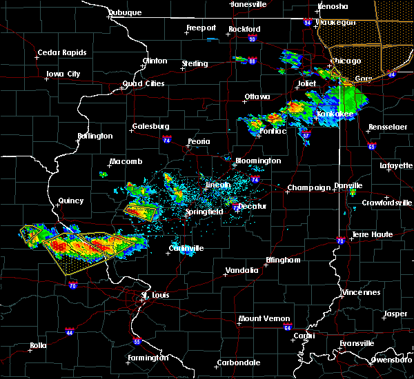 Radar Image for Severe Thunderstorms near Concord, IL at 6/1/2019 6:30 PM CDT