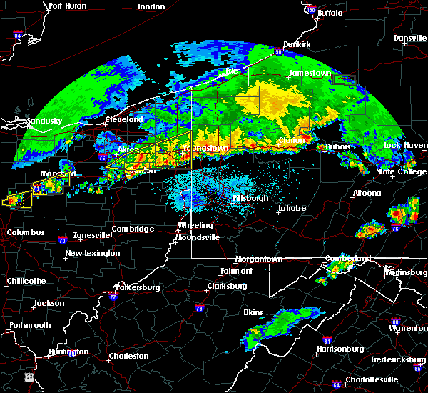 Radar Image for Severe Thunderstorms near Campbell, OH at 6/1/2019 7:34 PM EDT