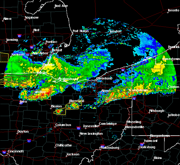 Radar Image for Severe Thunderstorms near Attica, OH at 6/1/2019 7:36 PM EDT