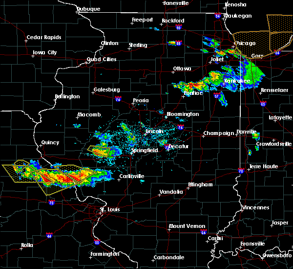 Radar Image for Severe Thunderstorms near Concord, IL at 6/1/2019 6:41 PM CDT
