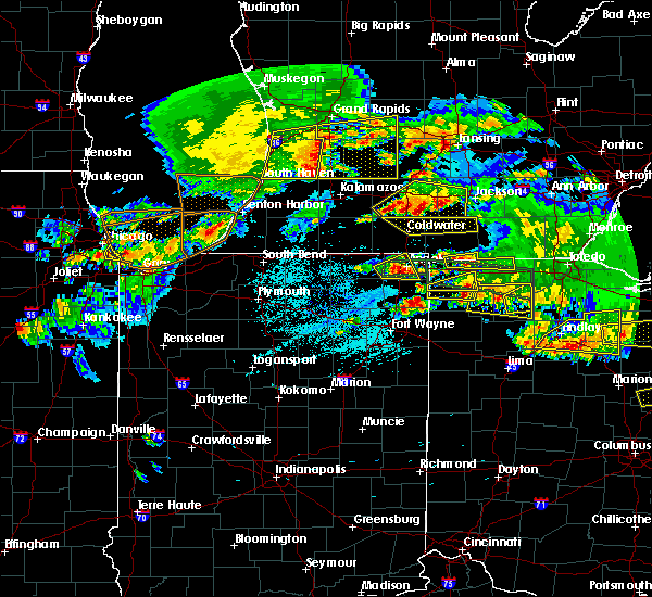 Radar Image for Severe Thunderstorms near Napoleon, OH at 6/1/2019 7:46 PM EDT