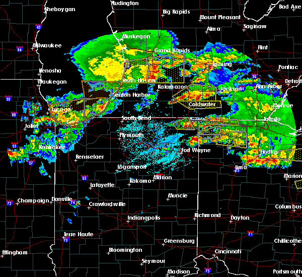 Radar Image for Severe Thunderstorms near Ney, OH at 6/1/2019 7:54 PM EDT