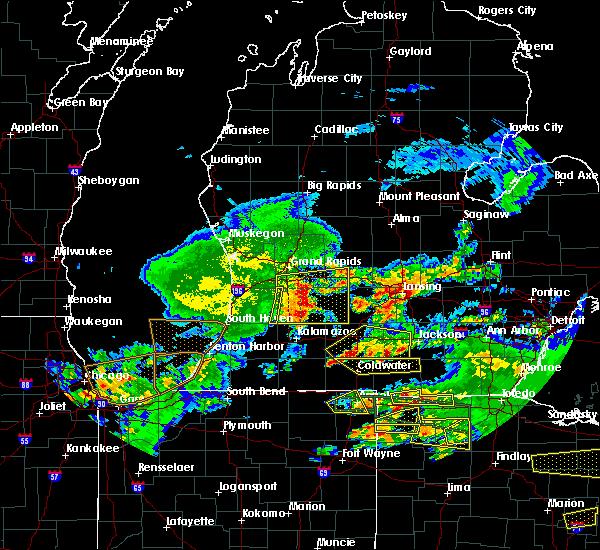 Radar Image for Severe Thunderstorms near Allegan, MI at 6/1/2019 7:57 PM EDT