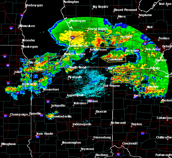 Radar Image for Severe Thunderstorms near Ney, OH at 6/1/2019 8:18 PM EDT