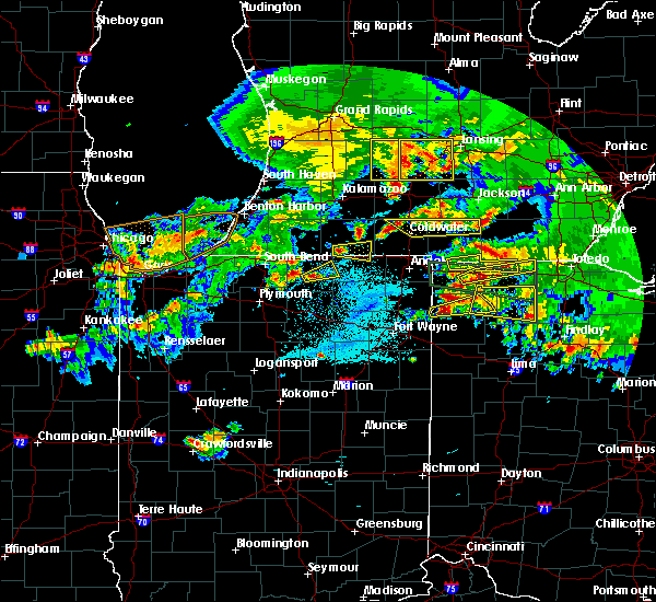 Radar Image for Severe Thunderstorms near Wauseon, OH at 6/1/2019 8:30 PM EDT