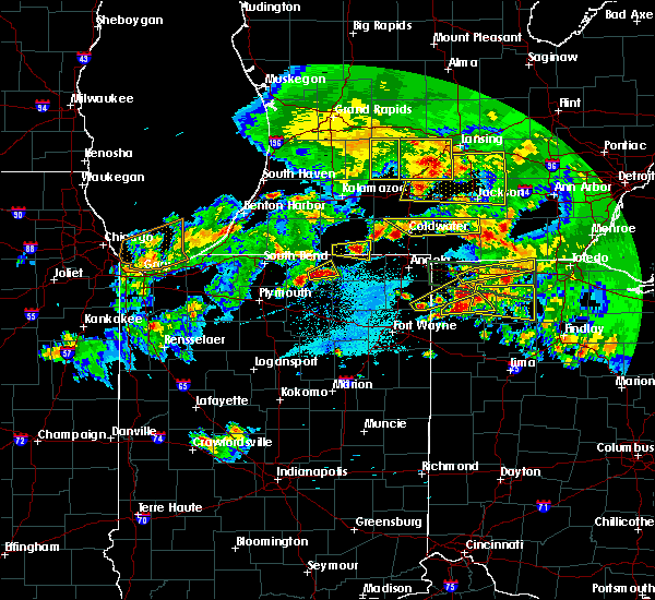 Radar Image for Severe Thunderstorms near Ney, OH at 6/1/2019 8:46 PM EDT