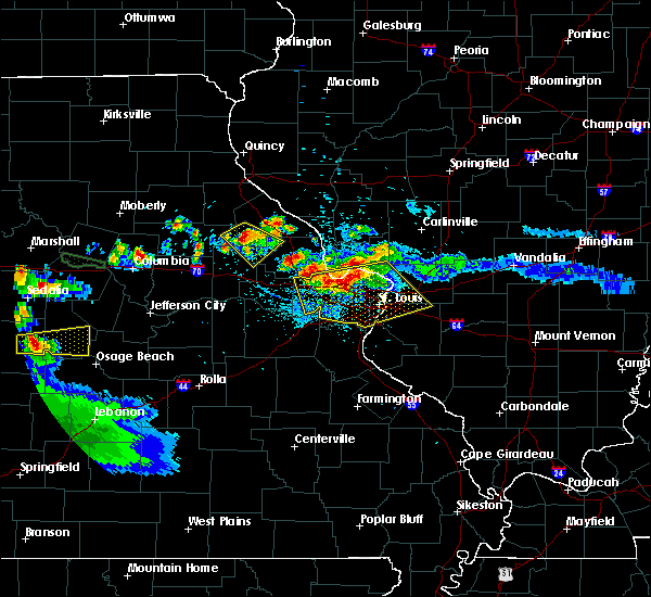 Radar Image for Severe Thunderstorms near Venice, IL at 6/1/2019 7:53 PM CDT