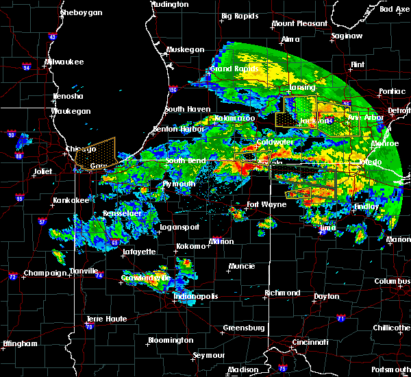 Radar Image for Severe Thunderstorms near Defiance, OH at 6/1/2019 9:28 PM EDT