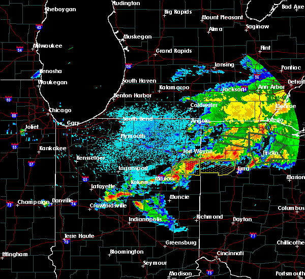 Radar Image for Severe Thunderstorms near Middle Point, OH at 6/1/2019 11:12 PM EDT