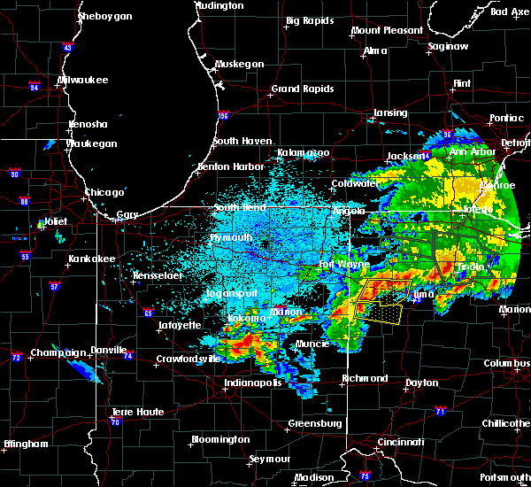 Radar Image for Severe Thunderstorms near Rockford, OH at 6/1/2019 11:42 PM EDT