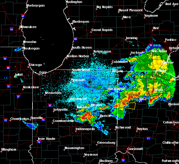 Radar Image for Severe Thunderstorms near Rockford, OH at 6/1/2019 11:55 PM EDT