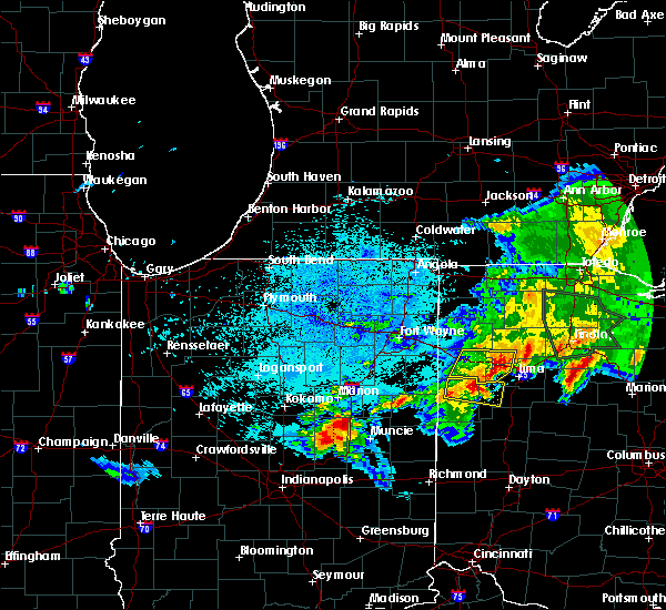 Radar Image for Severe Thunderstorms near Middle Point, OH at 6/1/2019 11:59 PM EDT
